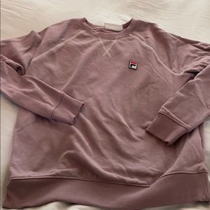 Fila lavender sweatshirt great condition medium